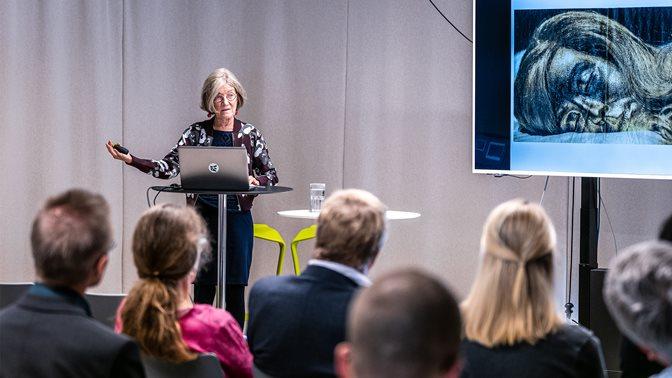Christina von Braun auf der SHSS-Konferenz