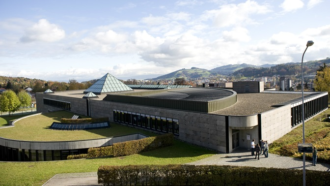 University of St.Gallen (HSG) library building